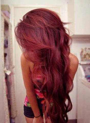 red hair style - New Purple and Blonde Hair Color